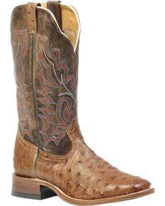 "Boulet Men's Double Stitch Roper 14"" Western Boots, Wood, hi-res"