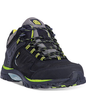 McRae Men's Steel Toe Hiking Shoes, Black, hi-res