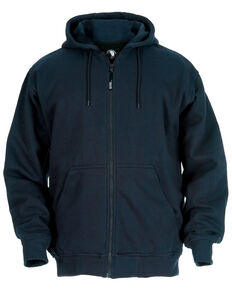 Berne Original Hooded Sweatshirt - Tall Sizes, Navy, hi-res
