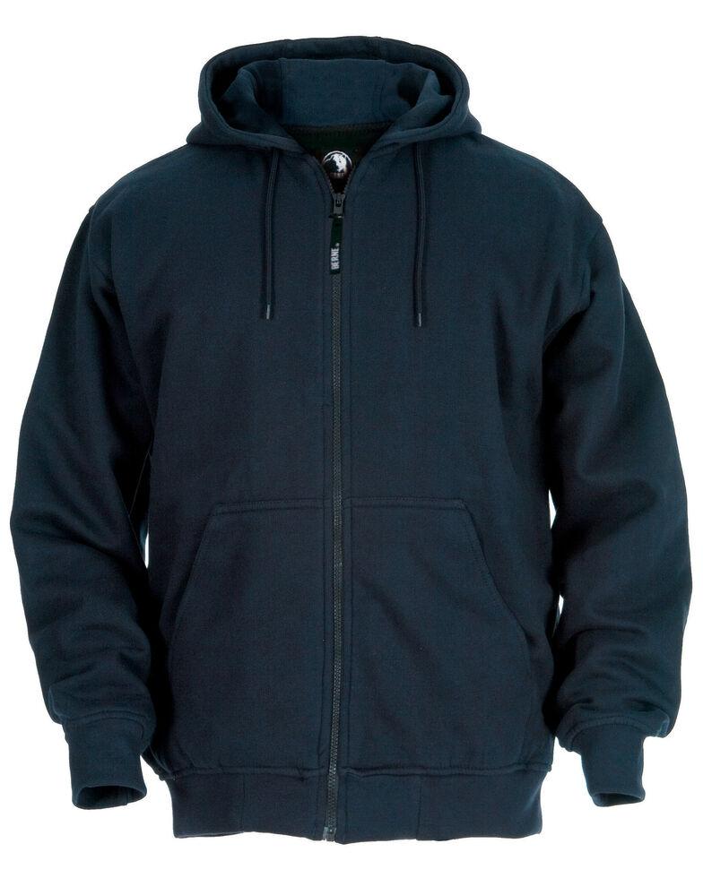 Berne Original Hooded Sweatshirt - Tall Sizes, Navy, hi-res