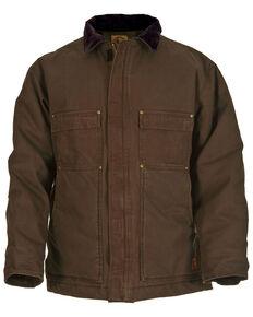 Berne Original Washed Chore Coat - Tall Sizes, Bark, hi-res