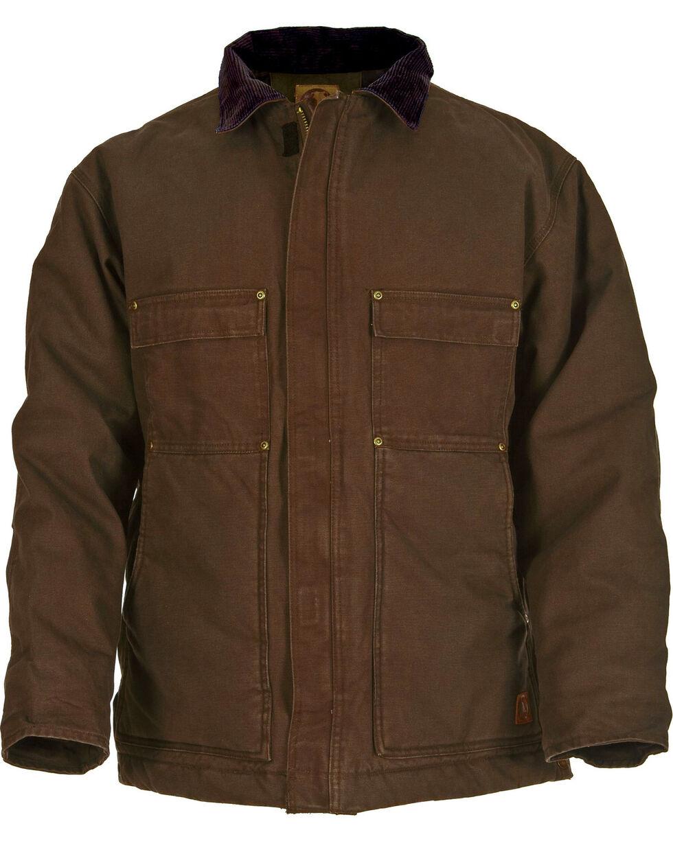 Berne Original Washed Chore Coat - Tall 3XT and Tall 4XT, Bark, hi-res