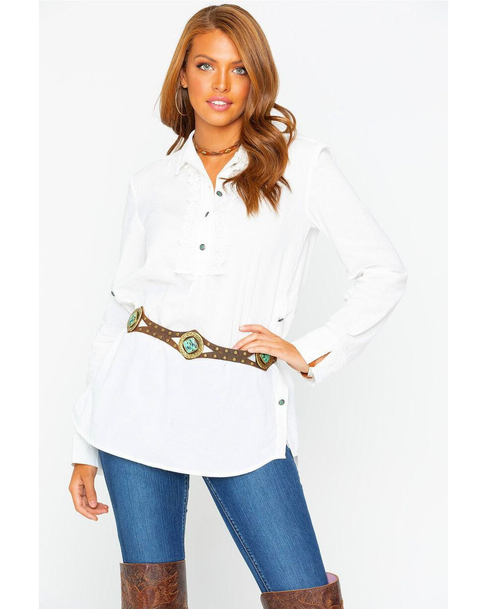 Tasha Polizzi Women's Ezrah Long Sleeve Shirt, White, hi-res