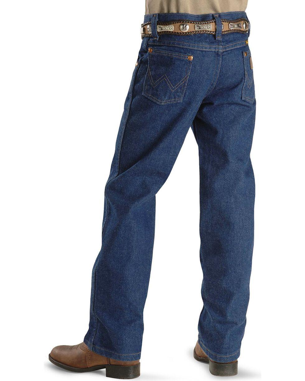 Wrangler Boys' ProRodeo Jeans Size 1-7, Indigo, hi-res