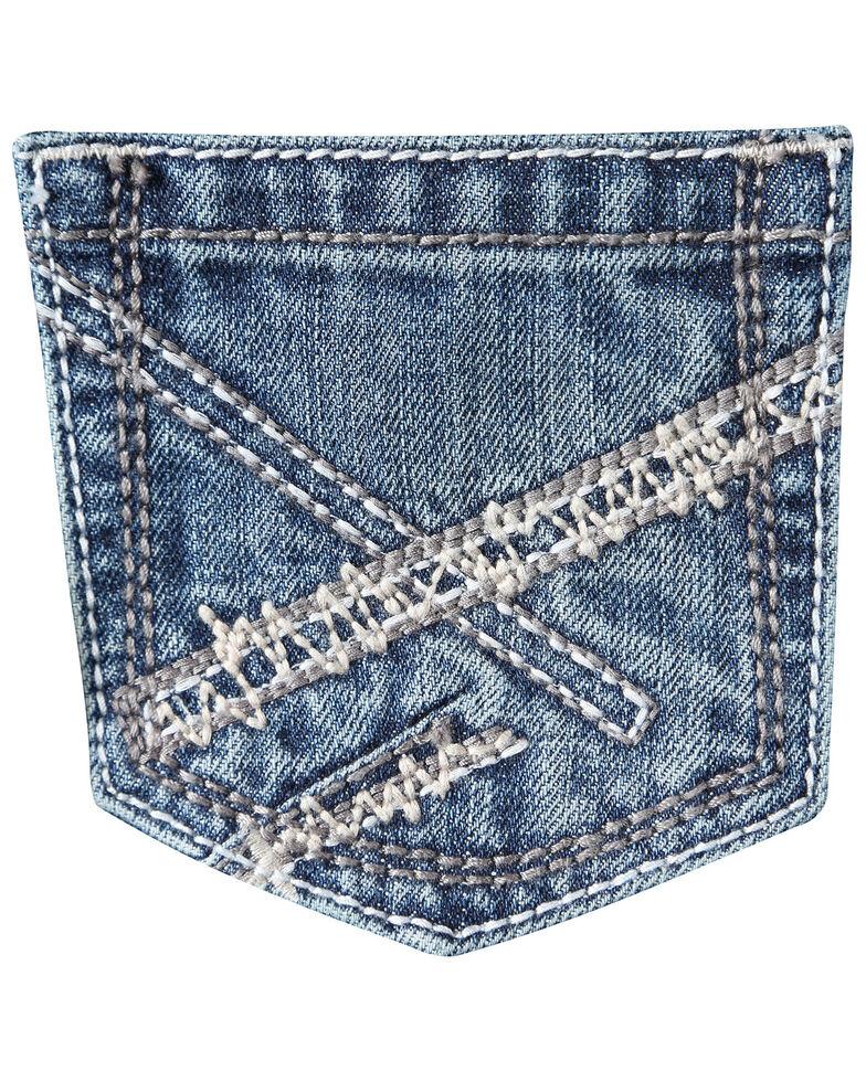 Wrangler 20X Boys' No. 42 Vintage Low Slim Bootcut Jeans , Blue, hi-res