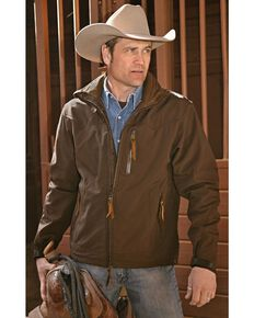 STS Ranchwear Men's Young Gun Brown Jacket - Big & Tall, Brown, hi-res