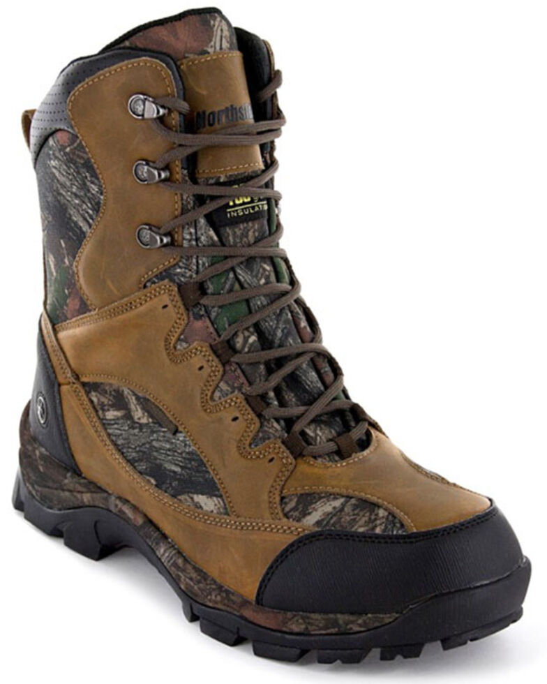 Northside Men's Renegade Waterproof Camo Hunting Boots - Soft Toe, Camouflage, hi-res