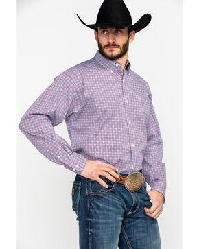 Ariat Men's Fey Print Stretch Long Sleeve Western Shirt , Multi, hi-res