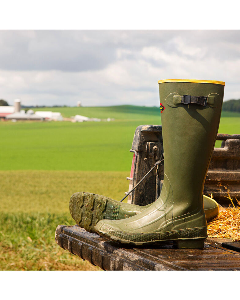LaCrosse Men's Grange Hunting Boots - Round Toe, Multi, hi-res