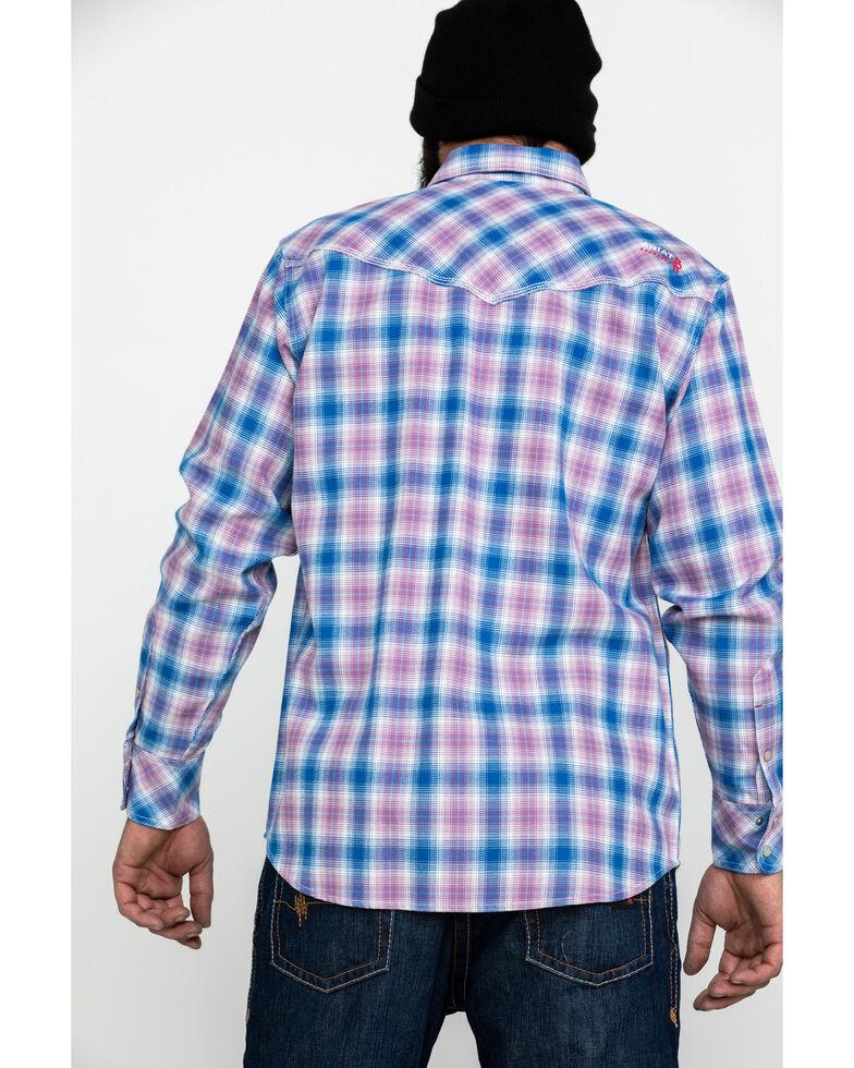 Ariat Men's FR Orion Retro Work Long Sleeve Shirt, Multi, hi-res