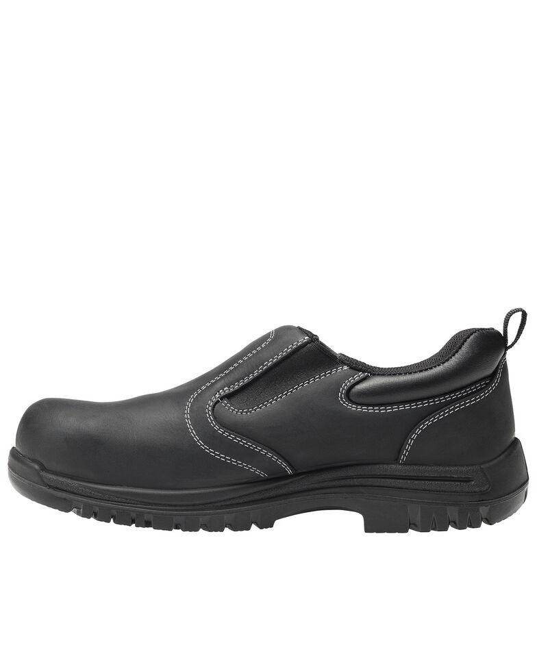 Avenger Men's Foreman Waterproof Work Shoes - Composite Toe, Black, hi-res