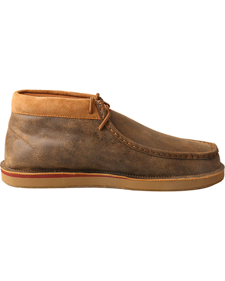 58034861c25e Zoomed Image Twisted X Men's Bomber Casual Loafers - Moc Toe, Brown, hi-res