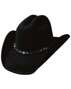 Bullhide Wagoneer Wool Hat, Black, hi-res