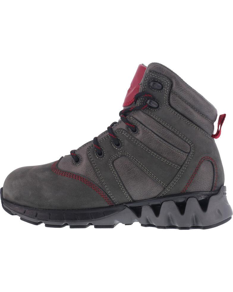 Reebok Women's ZigKick Waterproof Hiker Work Boots - Carbon Toe , Grey, hi-res