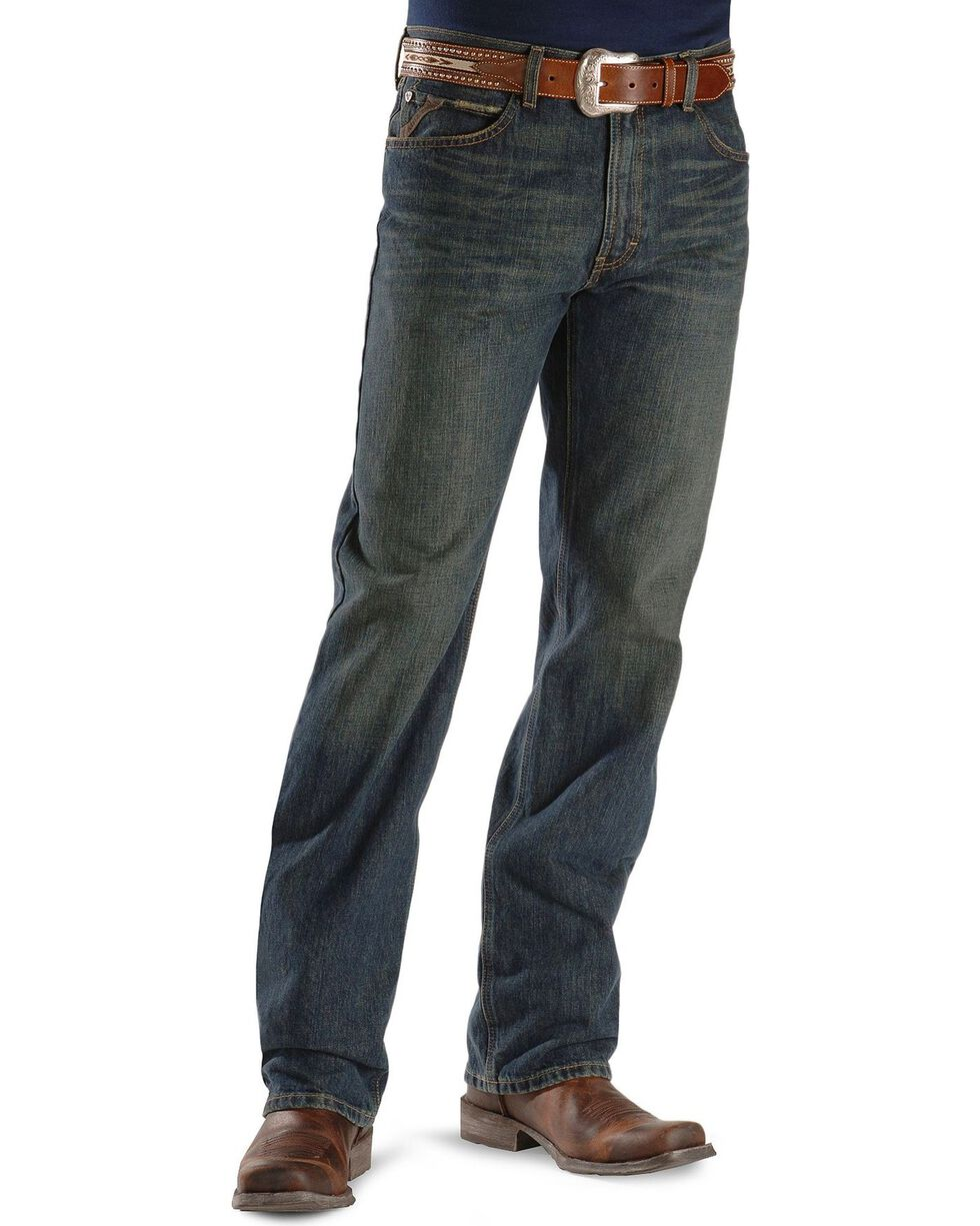 Ariat Men's M2 Swagger Relaxed Fit Jeans, Swagger, hi-res