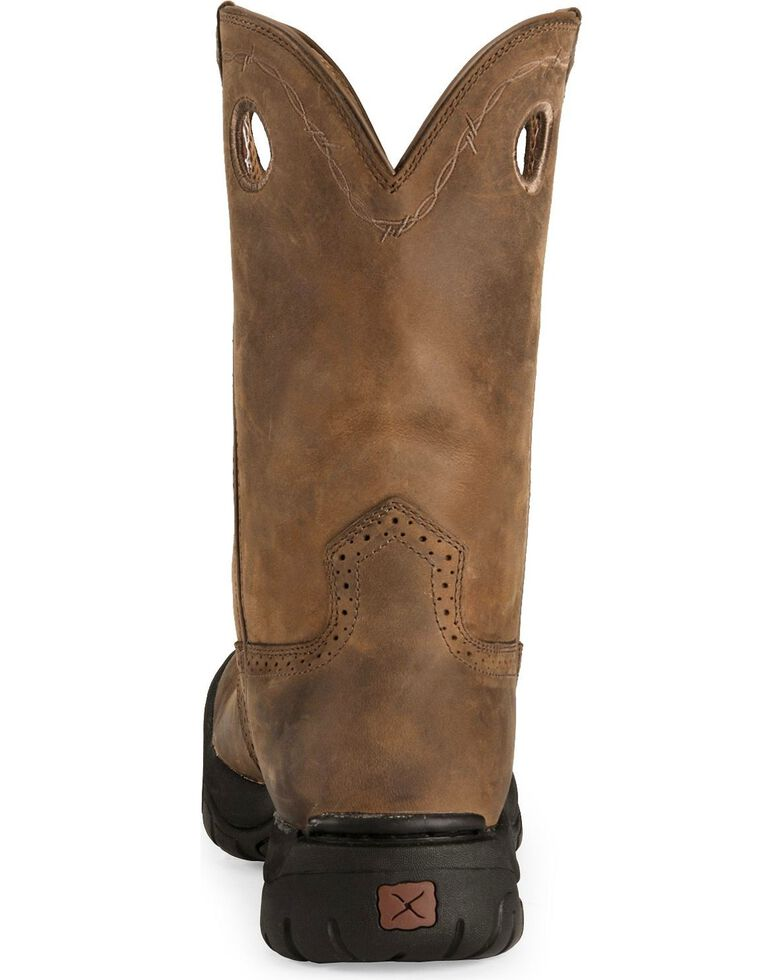 Twisted X Men's Distressed All Around Western Boots, Distressed, hi-res