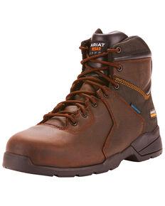 Ariat Men's Rebar Flex Protect Work Boots - Composite Toe, Dark Brown, hi-res