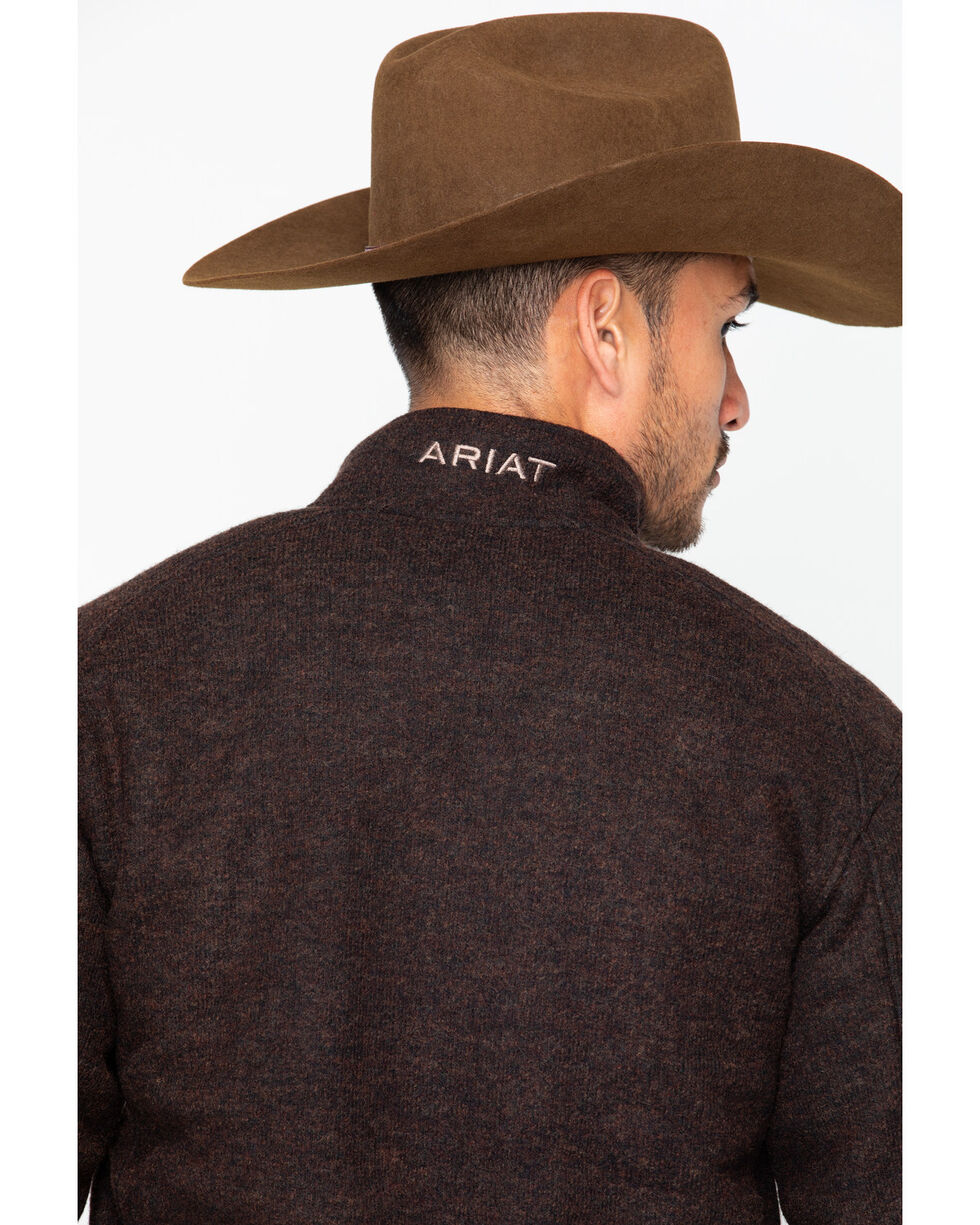 Ariat Men's Bowdrie Jacket, Brown, hi-res