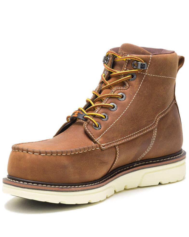Wolverine Men's Tan I-90 Durashocks Work Boots - Soft Toe, Tan, hi-res
