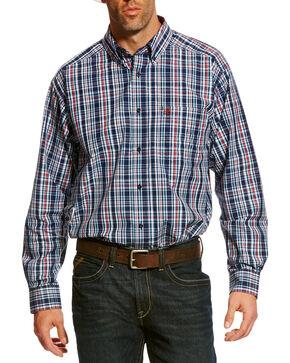 Ariat Men's Blue Baldovan Classic Fit Shirt , Multi, hi-res