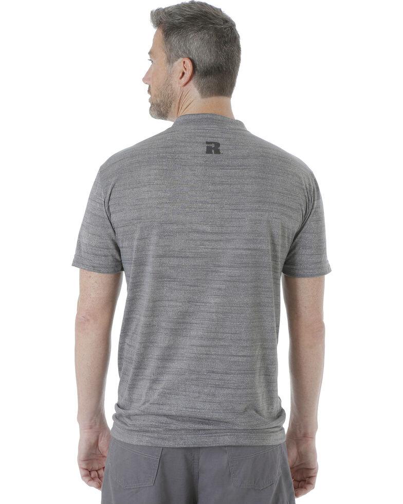 6cbd7750710b Zoomed Image Wrangler Men's Riggs Workwear Short Sleeve Henley Shirt ,  Charcoal, hi-res