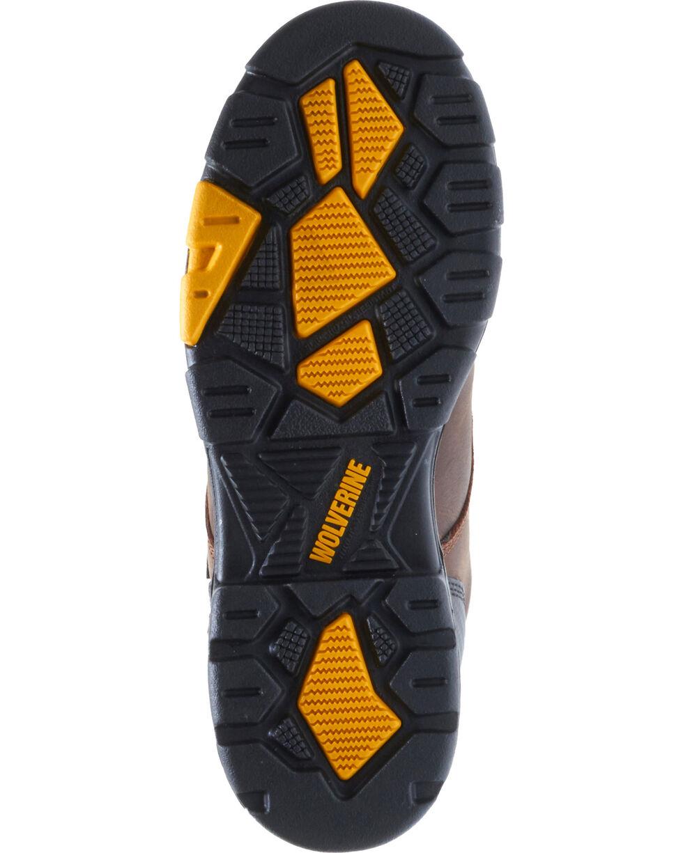 Wolverine Men's Blade LX Waterproof Met Guard Work Boots - Composite Toe, Dark Brown, hi-res