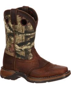 Durango Boys' Saddle Camo Western Boots, Camouflage, hi-res