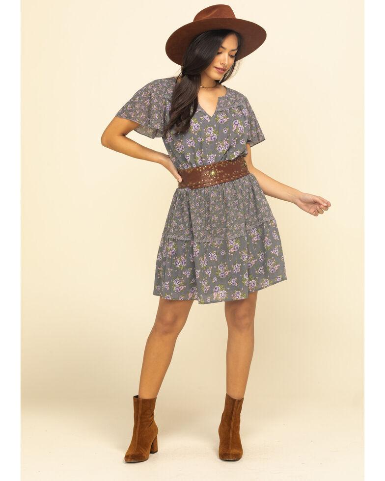 Ariat Women's Exhale Short Sleeve Dress, Multi, hi-res
