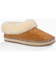 UGG Women's Wrin Slippers, Chestnut, hi-res