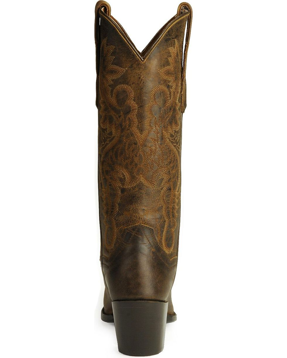 Dan Post Women's Maria Western Boots, Bay Brown, hi-res