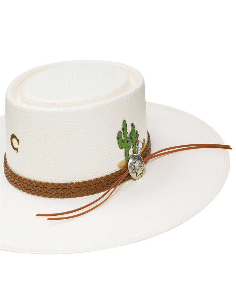 Charlie 1 Horse Women's Dry Spell Fashion Straw Hat , Natural, hi-res