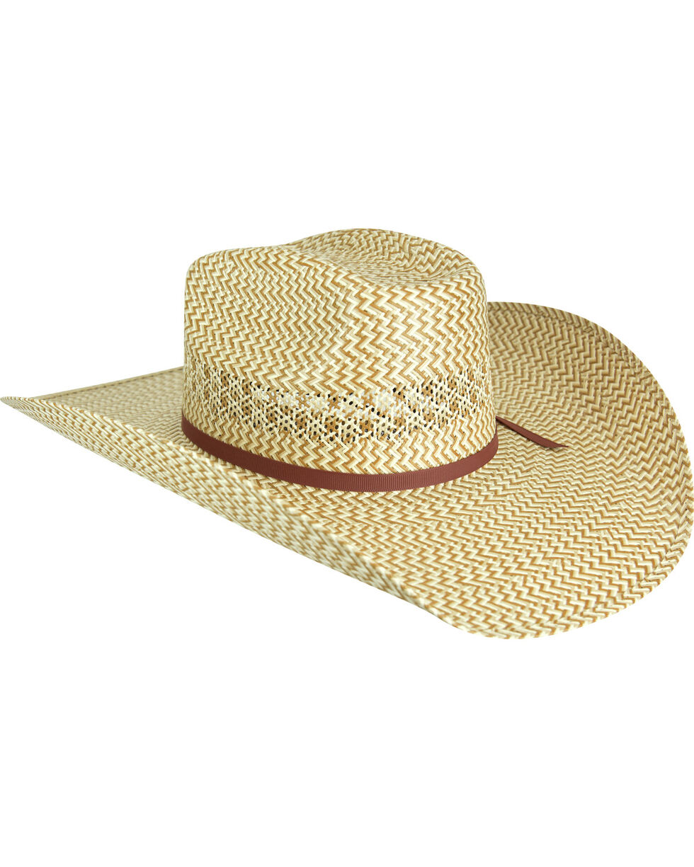 Bailey Men's Rayder 15X Straw Cowboy Hat, Multi, hi-res