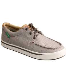 HOOey by Twisted X Men's ECO Loper Shoes, Grey, hi-res