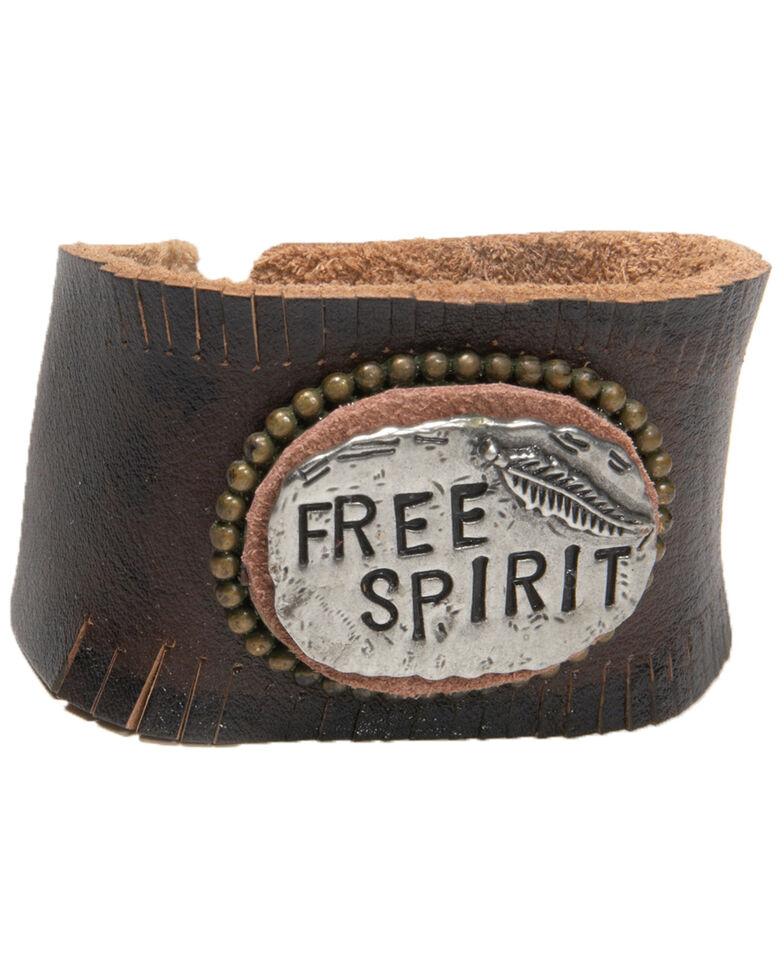 Cowgirl Confetti Women's Free Spirit Cuff, Black, hi-res