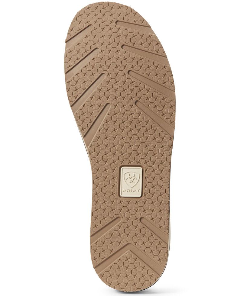Ariat Women's Chestnut Suede Cruiser Shoes - Moc Toe, Chestnut, hi-res