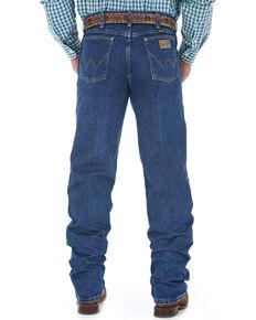 George Strait by Wrangler Men's Cowboy Cut Western Jeans, Blue, hi-res