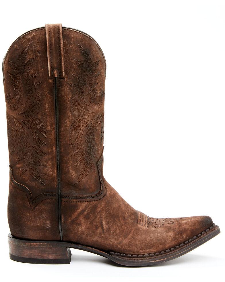 Moonshine Spirit Men's Brown Western Boots - Snip Toe, Camel, hi-res