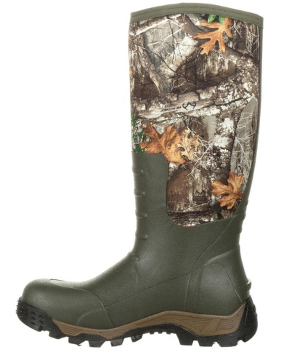 Rocky Men's Sport Pro Camo Waterproof Outdoor Boots - Round Toe, Multi, hi-res
