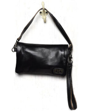 Bed Stu Women's Cadence Black Rustic Wallet/Clutch/Crossbody Bag, Black, hi-res