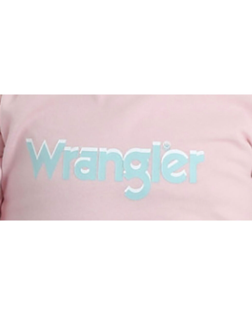 Wrangler Infant Girls' Pink Basic Logo Bodysuit , Pink, hi-res