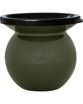 Solid Mud Jug Portable Spittoon, Olive, hi-res