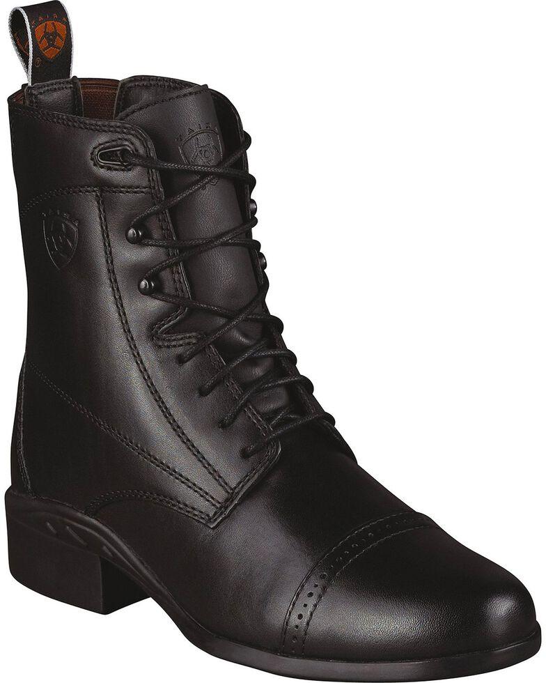 Ariat Women's Heritage III Paddock Boots, Black, hi-res