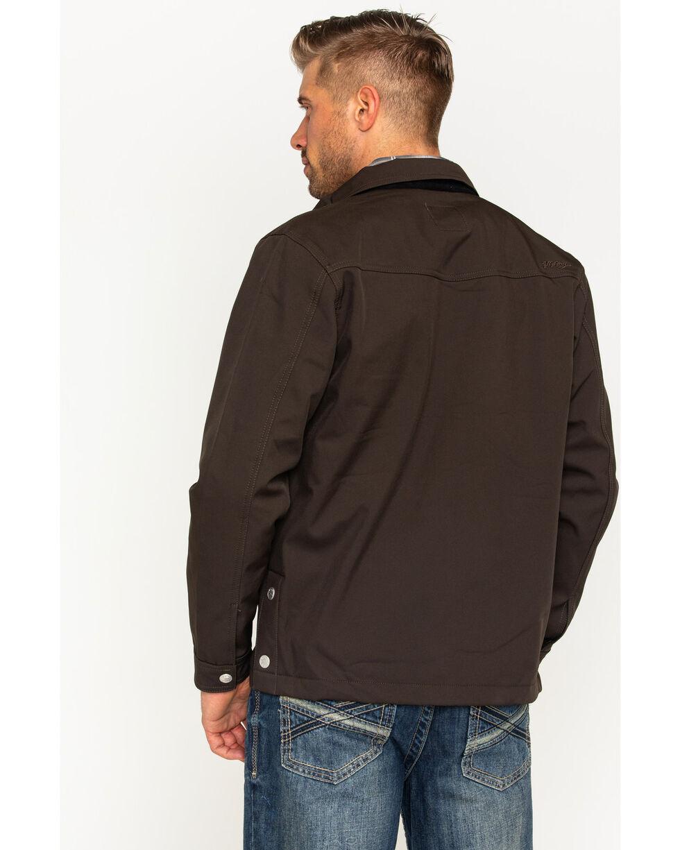HOOey Men's Brown Leo Jacket , Brown, hi-res