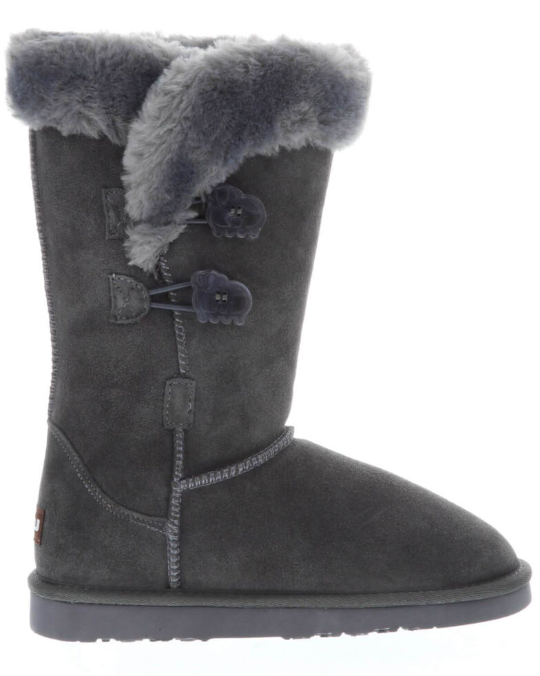 Lamo Footwear Women's Alice Charcoal Winter Boots - Round Toe, Charcoal, hi-res