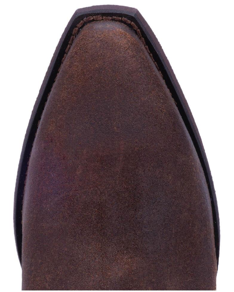 Laredo Women's Ryder Double Zipper Western Booties - Snip Toe, Rust Copper, hi-res