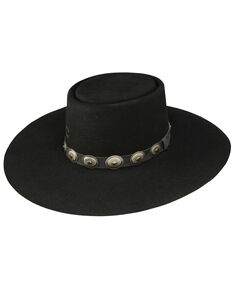 Charlie 1 Horse Women's High Desert Wool Hat, Black, hi-res