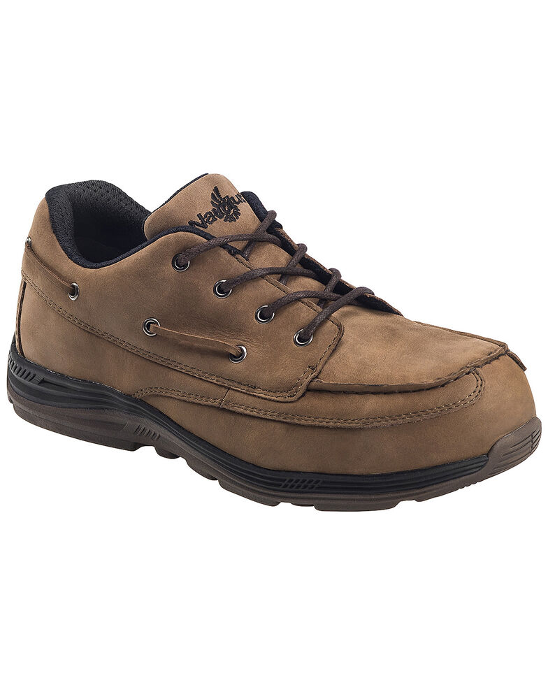 Nautilus Men's Brown EH Carbon Nanofiber Casual Work Shoes - Composite Toe, Brown, hi-res