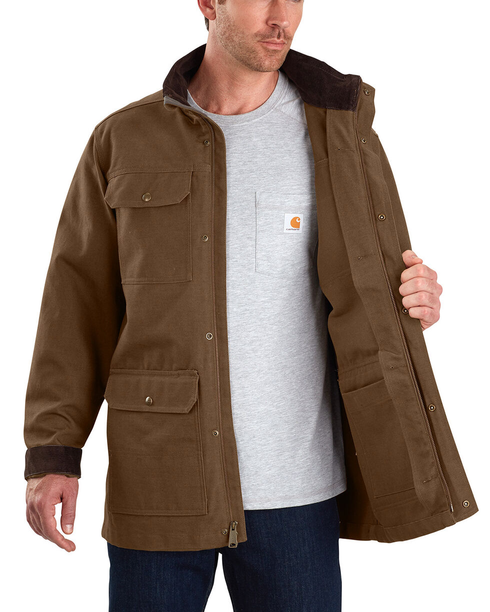 Carhartt Men's Field Coat , Chocolate, hi-res