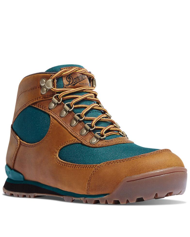 Danner Women's Jag Distressed Waterproof Hiking Boots - Soft Toe, Brown, hi-res