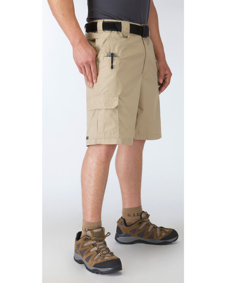 "5.11 Tactical Taclite Pro Long 11"" Shorts, Khaki, hi-res"
